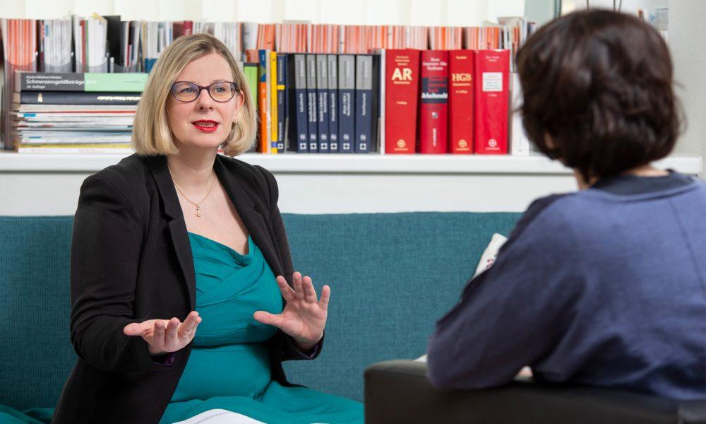 Ulrike Schmidt-Fleischer im Gespräch